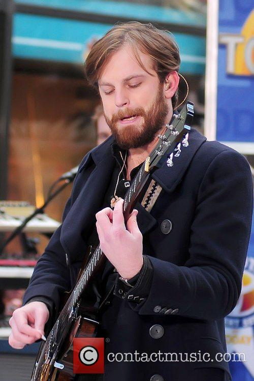 Kings of Leon performing live at Rockefeller Center...