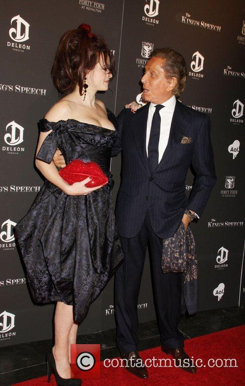 Helena Bonham Carter and Valentino 1