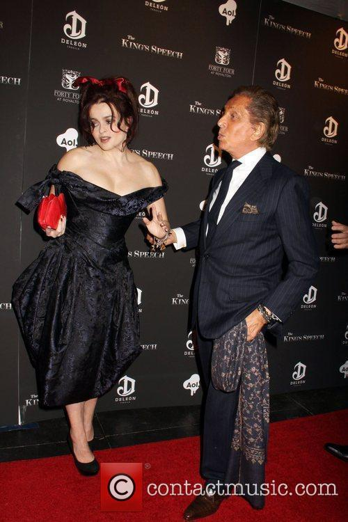 Helena Bonham Carter and Valentino 2