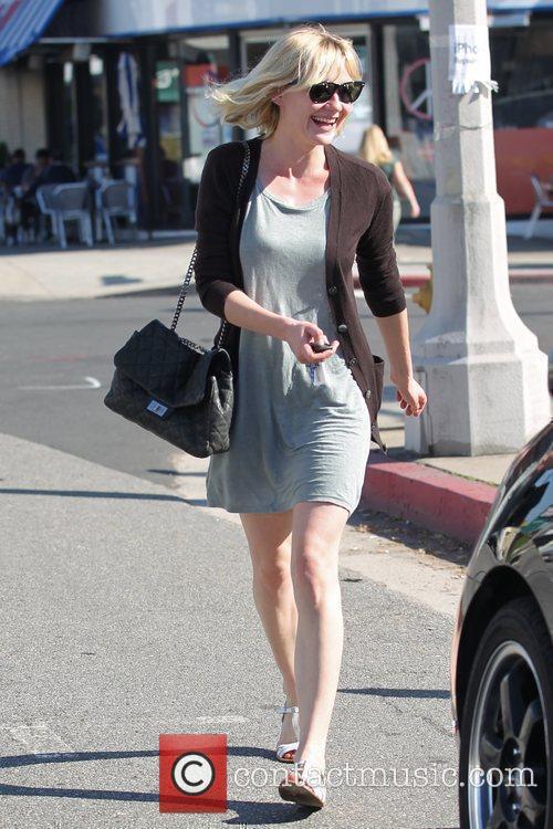 Kirsten Dunst leaving Swingers in West Hollywood Los...