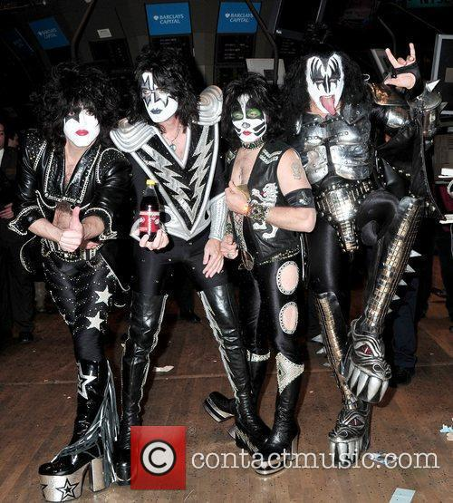 Paul Stanley, Eric Singer, Tommy Thayer and Gene Simmons 3
