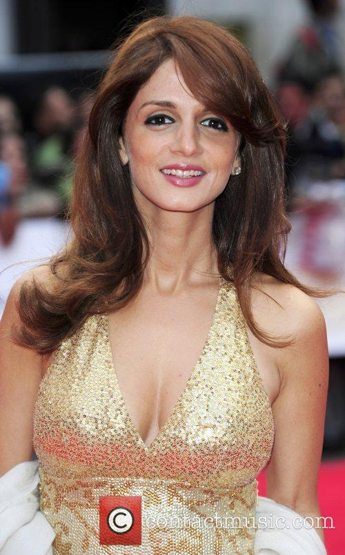 Attending the European Premiere of Bollywood film 'Kites'...