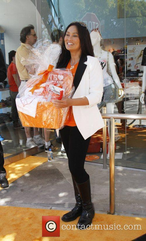 Tia Carerre at the Orange MS Cure Benefit...
