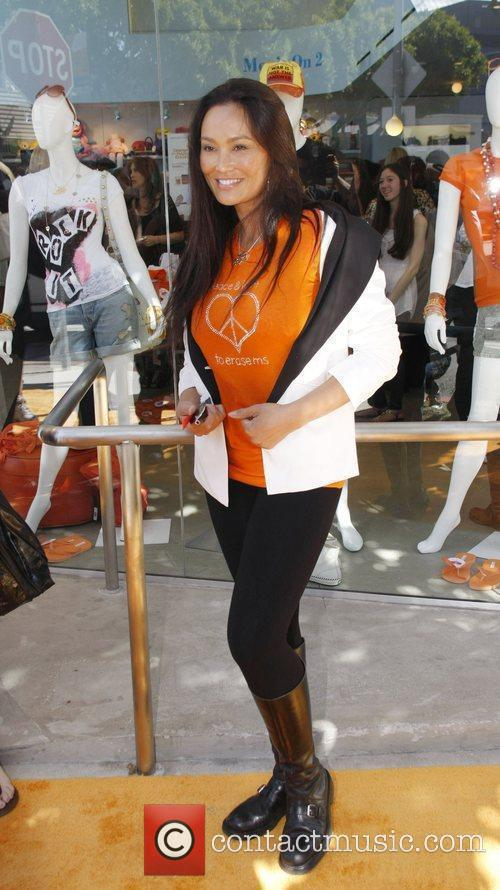 At the Orange MS Cure Benefit at Kitson...