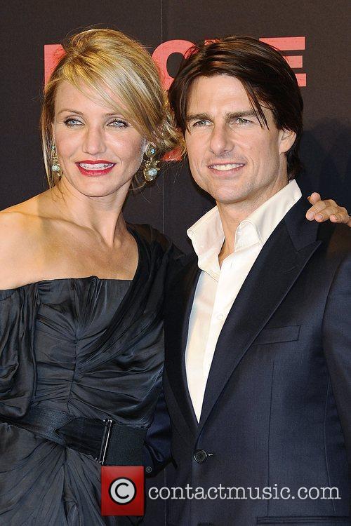 Cameron Diaz, Tom Cruise World premiere of 'Knight...