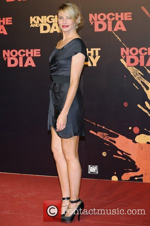 Cameron Diaz World premiere of 'Knight and Day'...