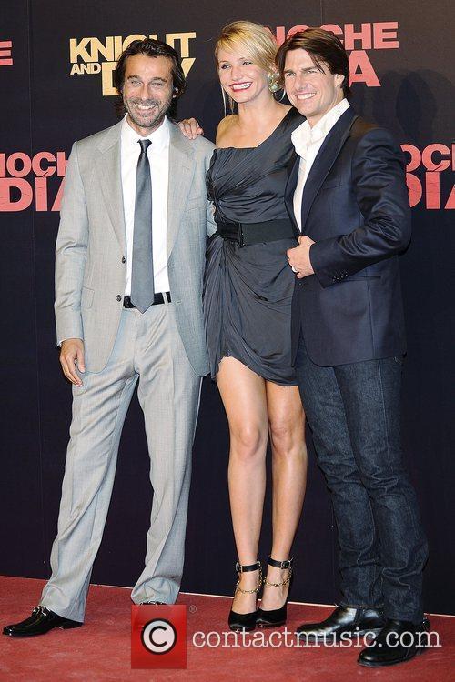 Jordi Molla, Cameron Diaz, Tom Cruise World premiere...