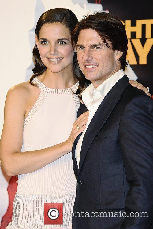 Katie Holmes and Tom Cruise World premiere of...