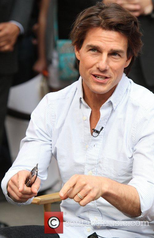 Tom Cruise appears on ABC's 'Good Morning America'...