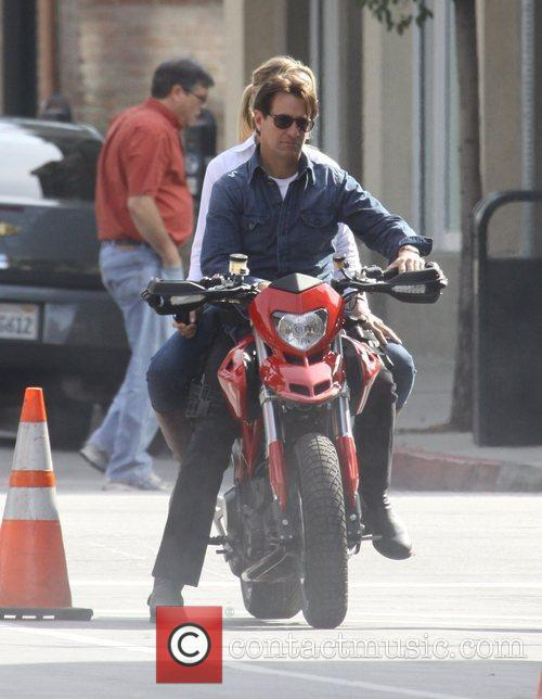 Stunt doubles for Tom Cruise and Cameron Diaz...