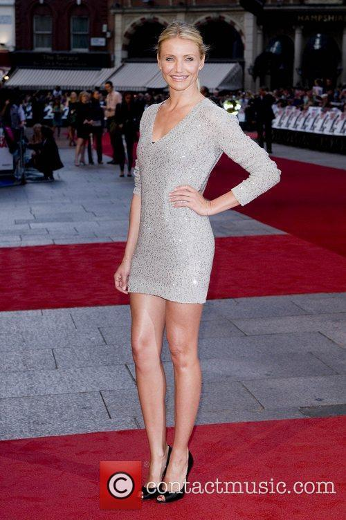 Cameron Diaz attends the UK film premiere of...