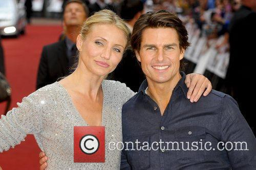 Cameron Diaz and Tom Cruise,  attends the...