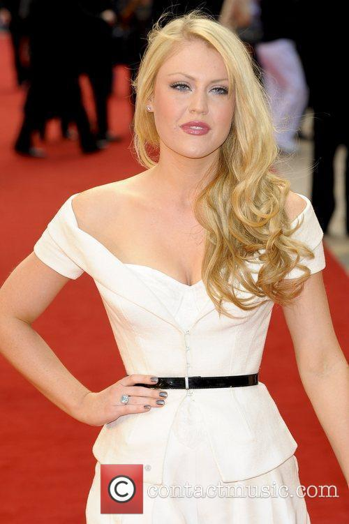 Camilla Kerslake,  attends the UK film premiere...