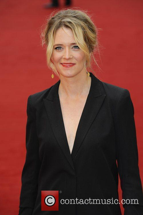 Edith Bowman,  attends the UK film premiere...