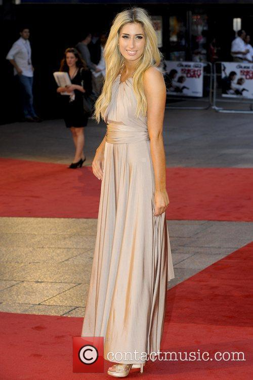 Stacey Solomon,  attends the UK film premiere...
