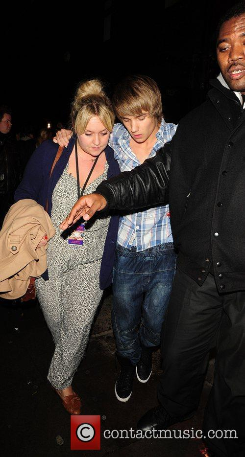 Liam Payne of One Direction leaving Koko in...