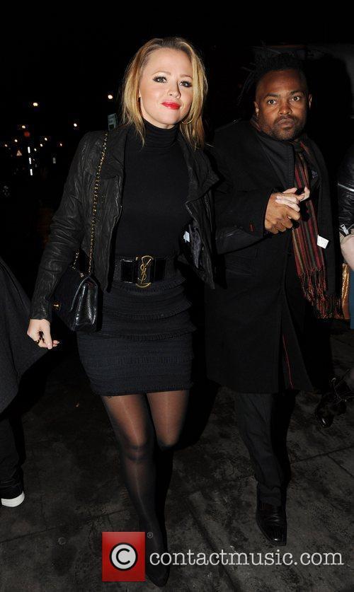 Kimberley Walsh leaving Koko in Camden after watching...