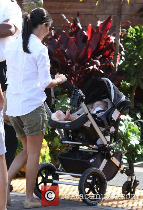 Kourtney Kardashian and her son Mason Dash Disick...