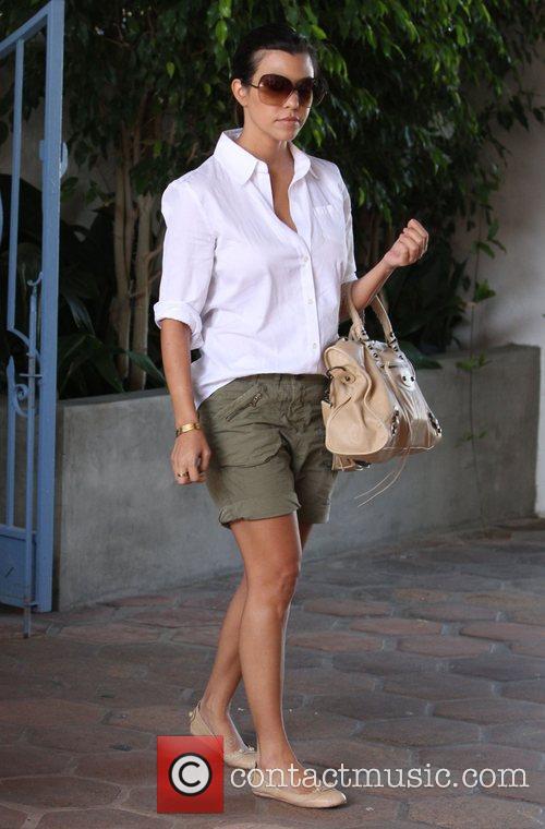 Kourtney Kardashian out and about in Malibu Los...