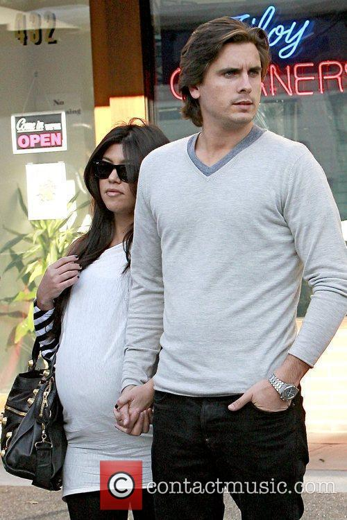 Kourtney Kardashian and Scott Disick 2
