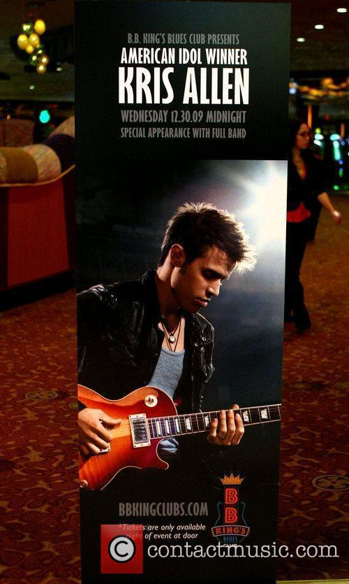 Kris Allen (poster) and American Idol 1