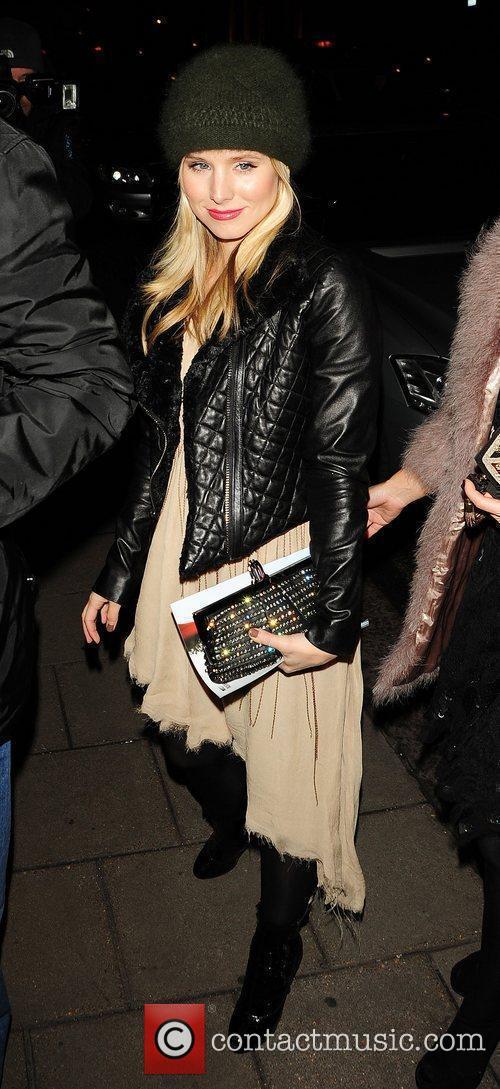 Kristen Bell at her hotel