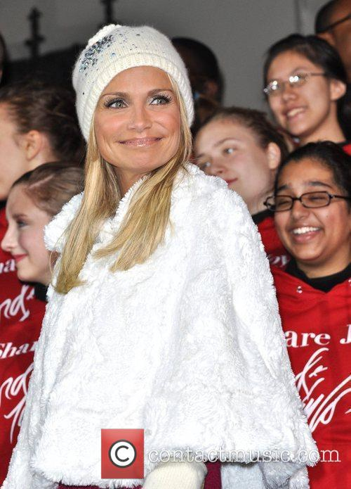 Kristen Chenoweth performs at the unveiling of the...
