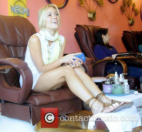 Reality Star Kristin Cavallari of the tv show...