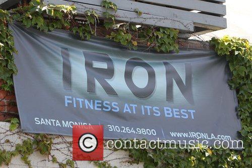 Kristin Cavallari arrives at Iron gym in Santa...