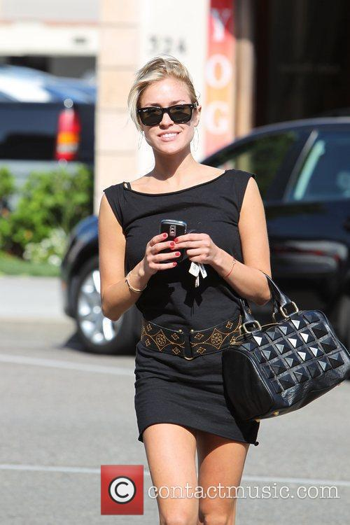 Leaving a nail salon in Beverly Hills after...
