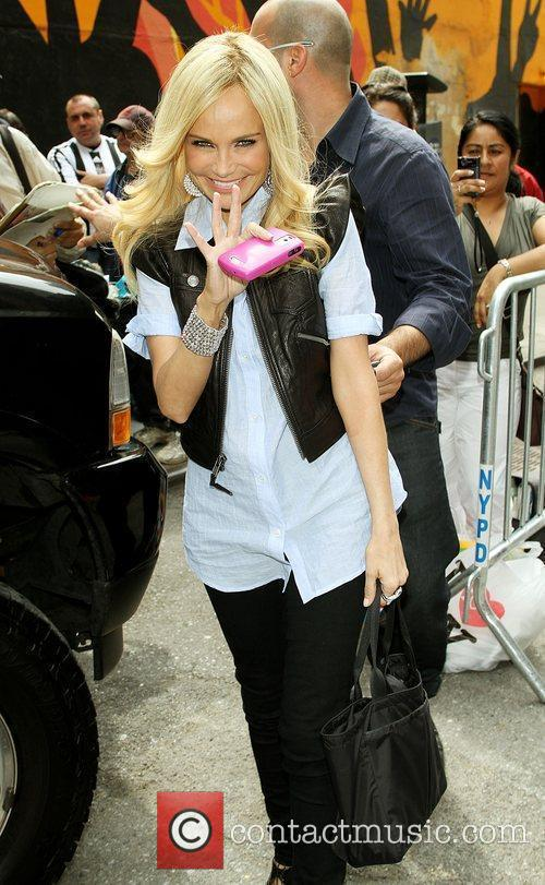 Kristin Chenoweth out and about in New York