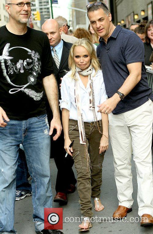 Kristin Chenoweth 'Promises, Promises' star outside the Broadway...
