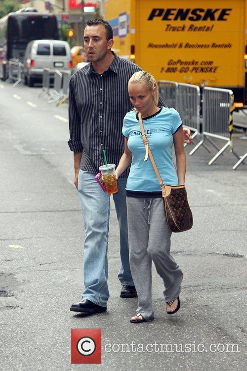 Seen walking on Broadway with a friend