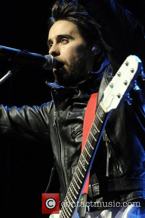 Jared Leto of 30 Seconds To Mars The...