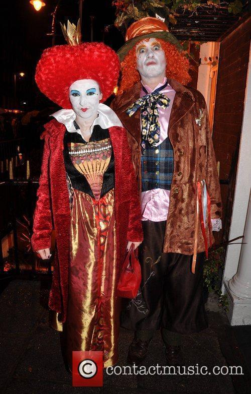 Ciara Carroll, Tommy Lavelle Krystle nightclub's Halloween 2010...