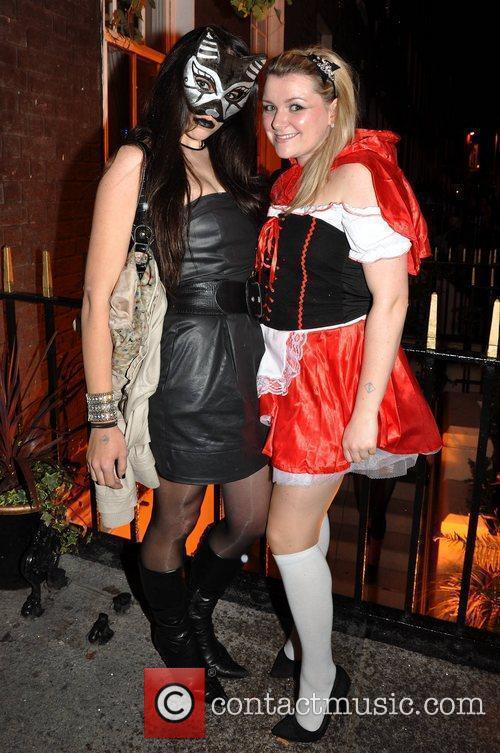 Mary Walsh, Ciara O'Shea Krystle nightclub's Halloween 2010...