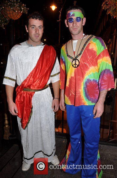 Mike Duffy, Liam Duffy Krystle nightclub's Halloween 2010...