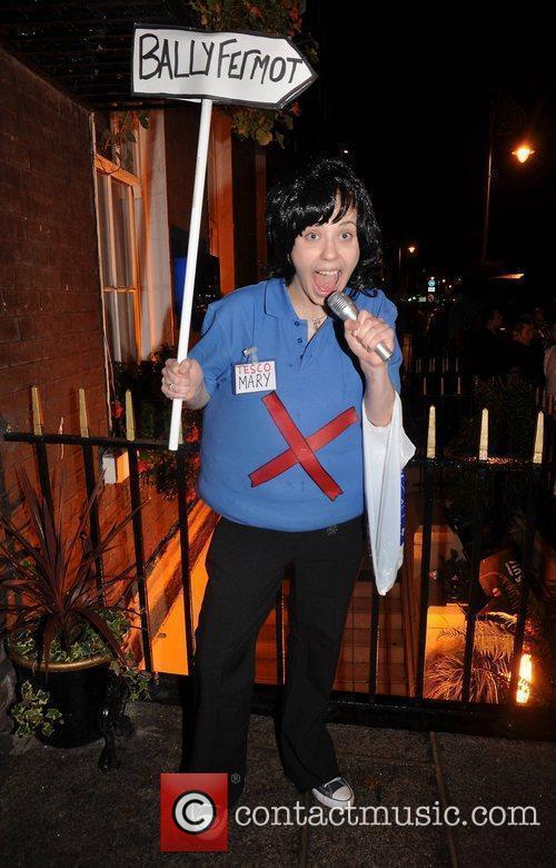 Caroline Flynn (as Mary Byrne) Krystle nightclub's Halloween...