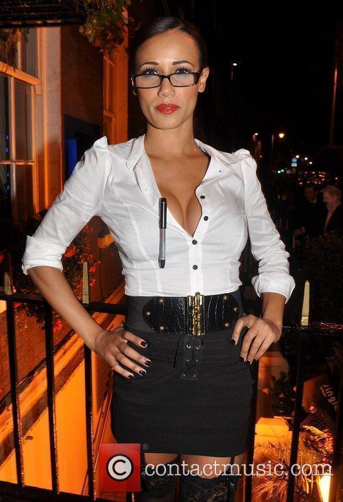 Noireen Kelly  Krystle nightclub's Halloween 2010 party...