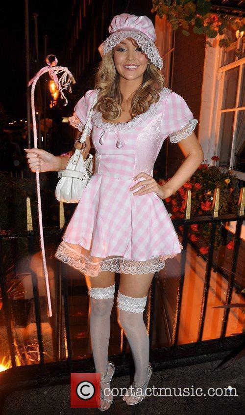 Joanne Martin Krystle nightclub's Halloween 2010 party...