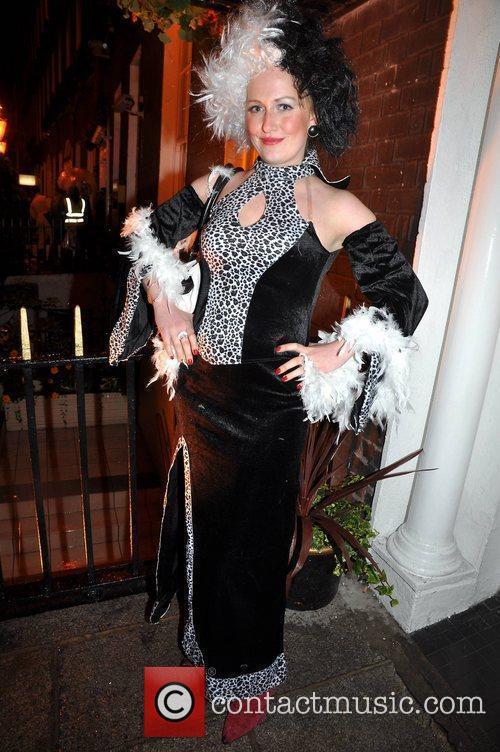 Suzanna Howard Krystle nightclub's Halloween 2010 party...