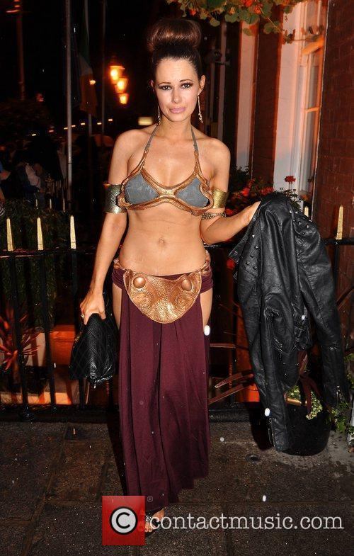 Carol Byrne Krystle nightclub's Halloween 2010 party...