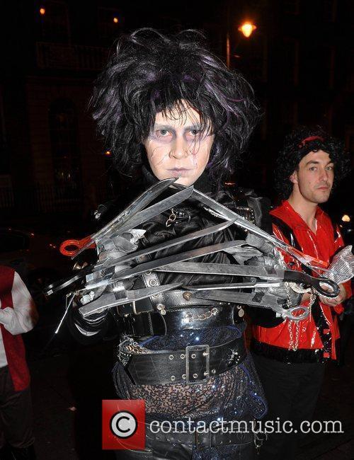 Edward O'Rourke Krystle nightclub's Halloween 2010 party...