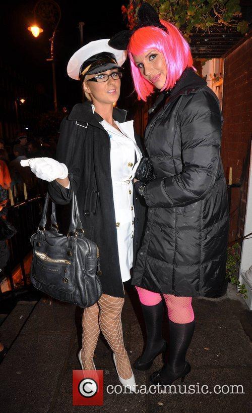 Nicola Pickering, Charlotte Goodwin Krystle nightclub's Halloween 2010...