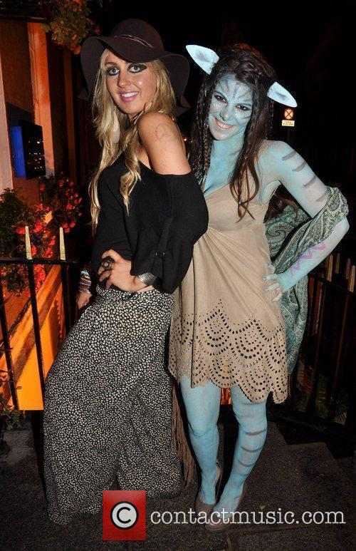 Melissa McKay, Gillian Deane Krystle nightclub's Halloween 2010...