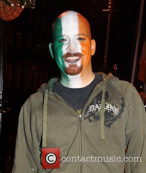 Jon Shawver Krystle nightclub's Halloween 2010 party...
