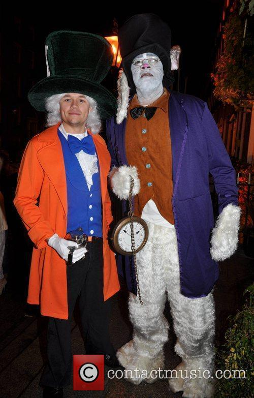 Nicky Kenny, Ross McDonnell Krystle nightclub's Halloween 2010...