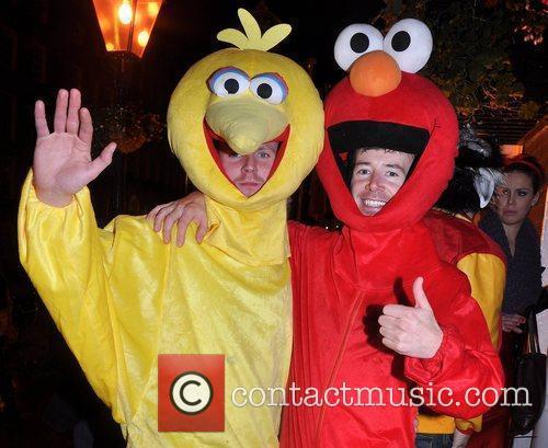 Sean O'Brien, Mark McDonagh Krystle nightclub's Halloween 2010...