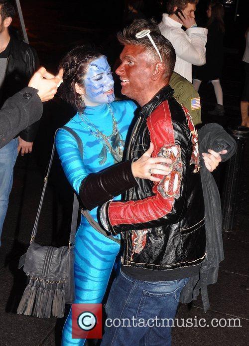 Killian O'Sullivan Krystle nightclub's Halloween 2010 party...