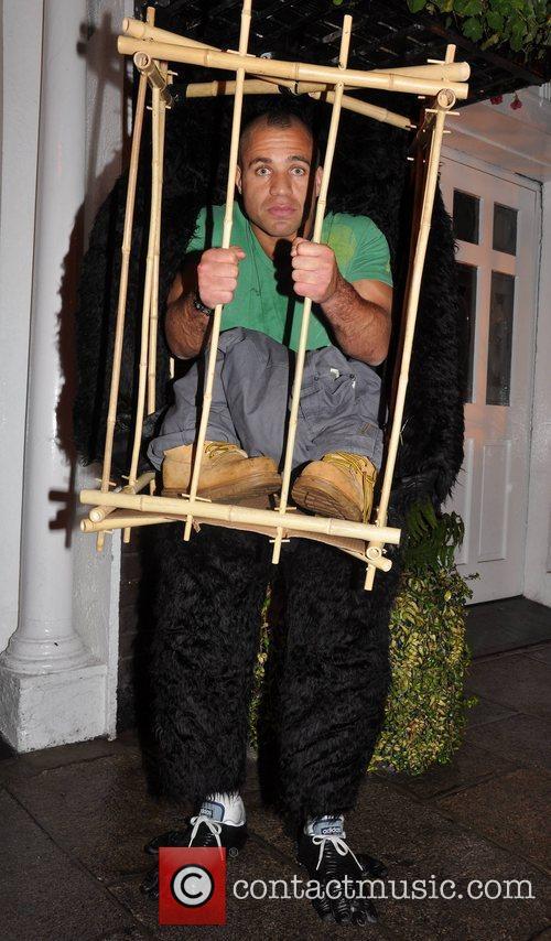 Conor Buckley Krystle nightclub's Halloween 2010 party...
